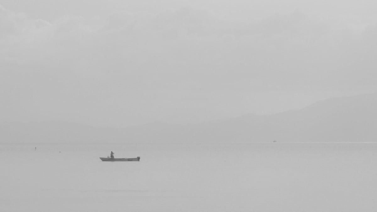 三途の川の渡し舟